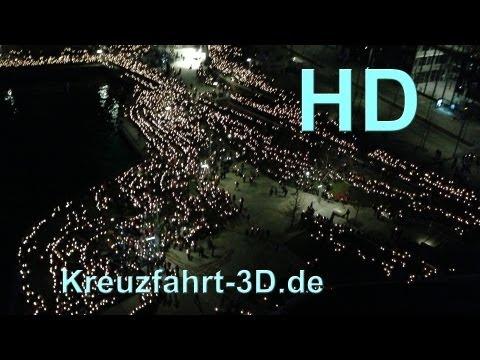Abendsegen und Lichtermeer beim 34. Evangelischer Kirchentag Hamburg (01.Mai 2013)
