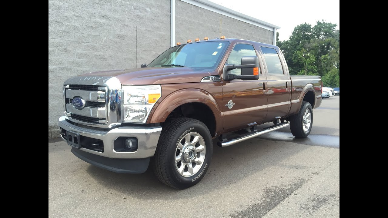 2012 ford f350 crew cab lariat diesel like new call text paul at 269 270 2949 youtube. Black Bedroom Furniture Sets. Home Design Ideas