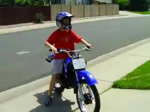 yamaha RT 100 dirt bike - YouTube