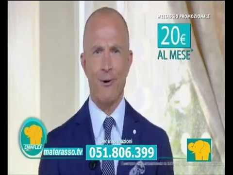 Offerta TV materasso Renova e Letto Gioia - YouTube