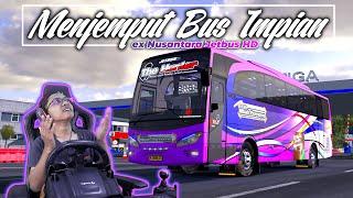Download lagu Menjemput Bus Impian Mbah Purnomo || Akhirnya rilis ex. Nusantara untuk PO Purnomo Trans