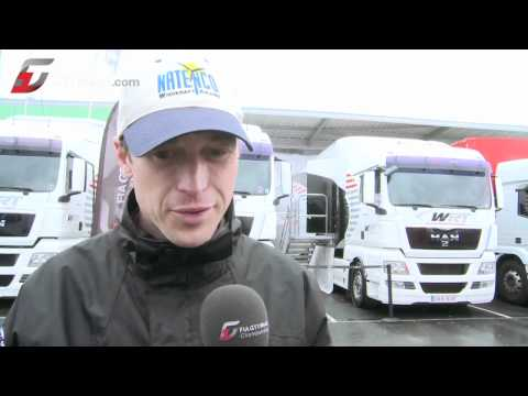 GT1-LIFE POST QUALIFYING RACE INTERVIEW-FRANK STIPPLER ENGLISH & GERMAN