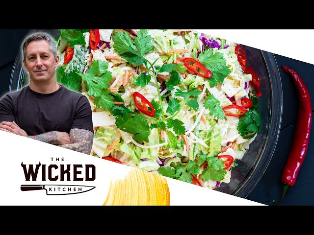🧨 Firecracker Coleslaw 💥| The Wicked Kitchen
