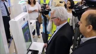 BorderXpress kiosks at Pafos Airport