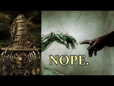Transhumanism is Crap. Techno Singularity Impossible.