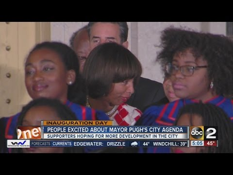 People in Baltimore excited about Mayor Catherine Pugh
