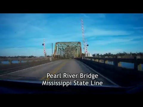 Road Trip #005.3 - US-90 East - New Orleans - Part 3