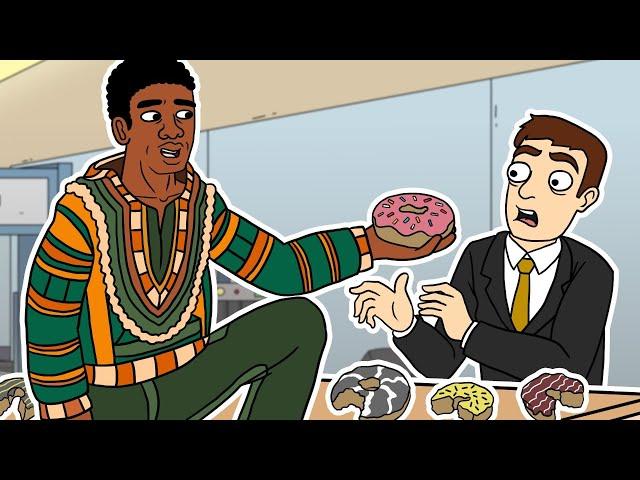 African Guy BOMBS Job Interview (hilarious)