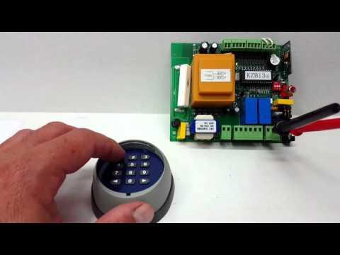Programming your ALEKO LM171 Wireless Keypad