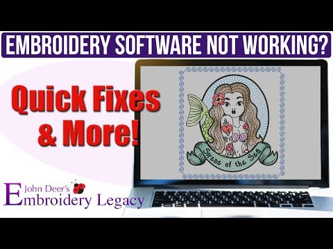 How To Fix Unresponsive Jump Stitches In Your Embroidery Software: Embroidery Digitizing Tutorial