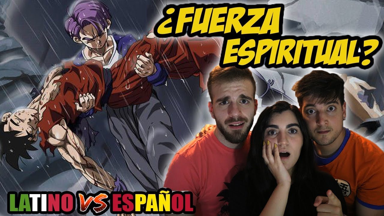 ESPAÑOLES REACCIONAN A DRAGON BALL LATINO VS ESPAÑOL |⚡ LA MUERTE DE GOHAN DEL FUTURO⚡TRUNKS SSJ1⚡