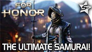 The ULTIMATE Samurai, BEST CLASS EVER!! - For Honor Multiplayer Gameplay - Nobushi Samurai Gameplay