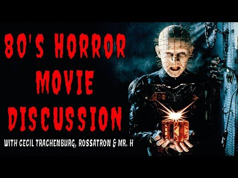 IN SEARCH OF DARKNESS - '80s Horror Doc. YouTube Creator discussion panel feat Barbara Crampton