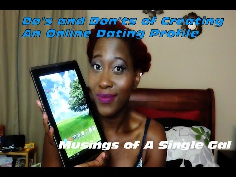 creating a dating profile name