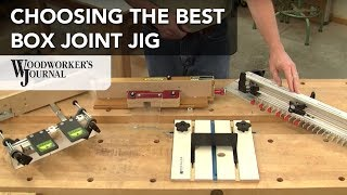 Box Joint Jig Roundup | 5 Router Table and Table Saw Box Joint Jigs