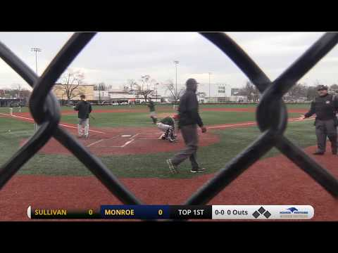 Monroe Mustangs Baseball vs. SUNY Sullivan
