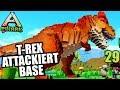 PixArk #29 T-Rex attackiert Base! | Let's Play Deutsch | Gameplay German
