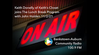 John Holden with Keith's Closet - 2BACR, 100.9 FM - Bankstown-Auburn Community Radio