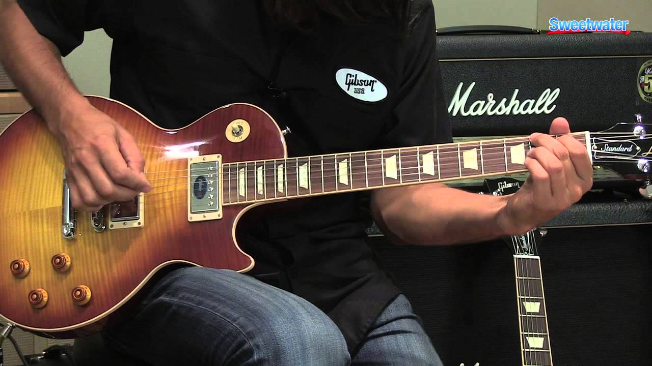 Gibson Les Paul Standard Plus 2013 Electric Guitar Demo Sweetwater Wiring Diagram Sound