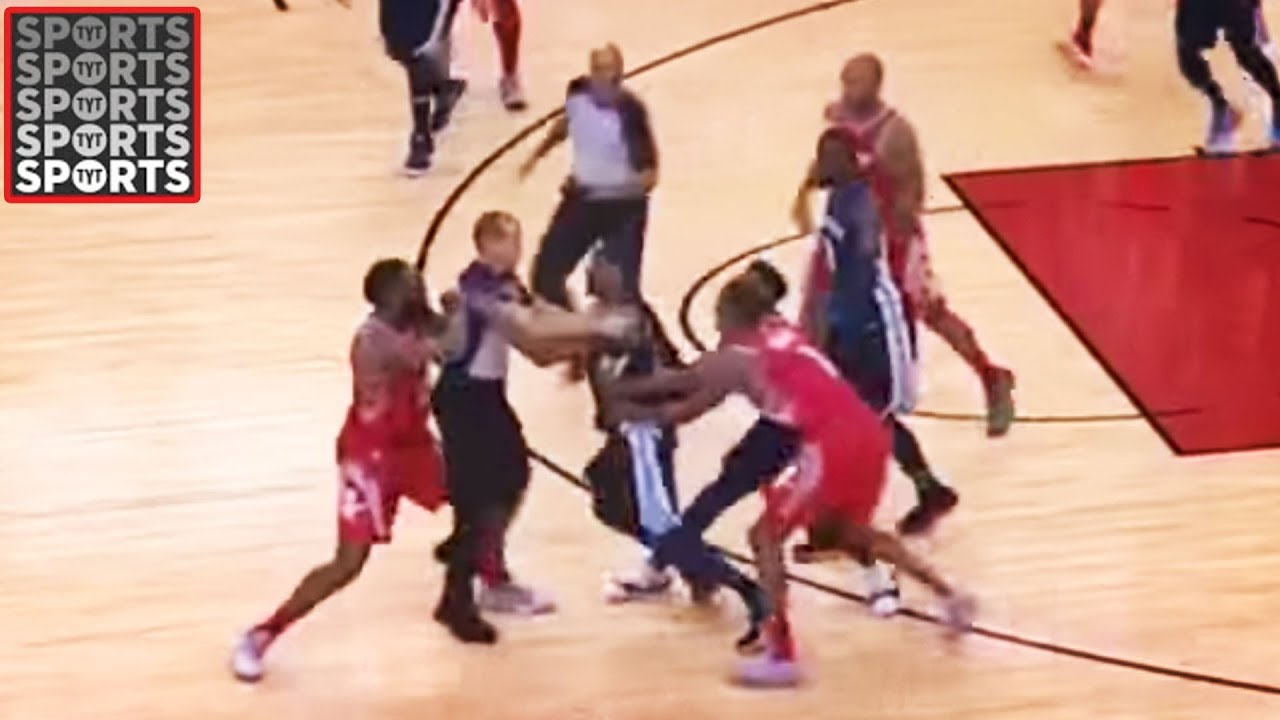 29155caa818e James Harden Fights Mario Chalmers (VIDEO) - YouTube