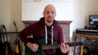 Guthrie Govan - Wonderful Slippery Thing (Cover by Rick Holmes)