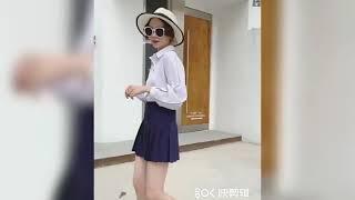 Женская мини юбка в стиле преппи с завышенной талией Однотонные теннисные юбки для девочек