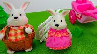 Развивающие мультики: Зайчата! Катание на лошадях! Игры для детей