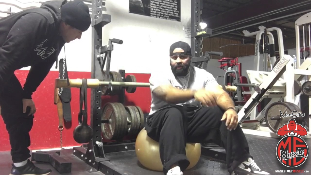 Bamboo Bar Bench Press W Medicine Ball Technique Daily