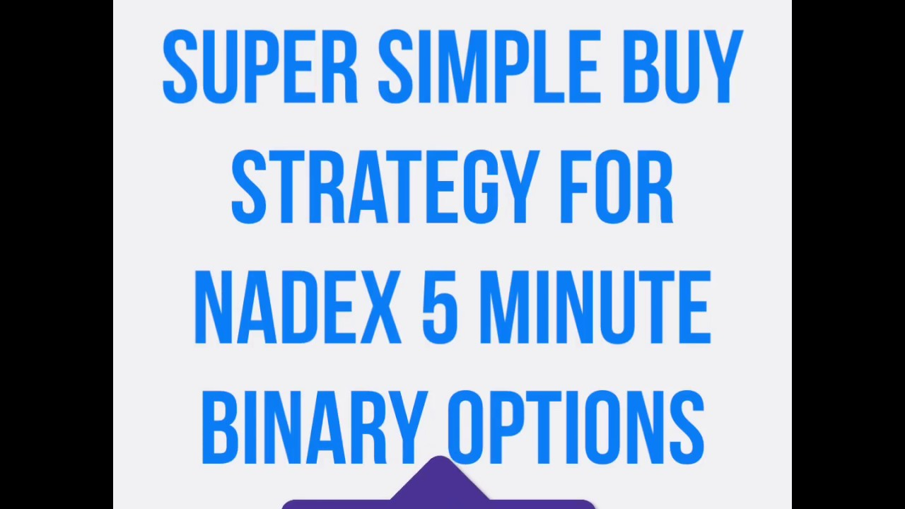 Super simple binary options strategy