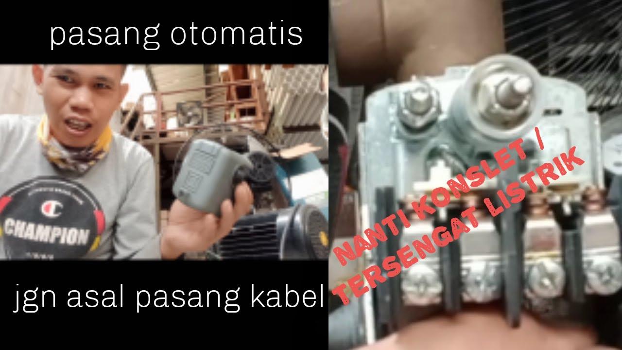 Cara Pasang Kabel Otomatis Pompa Air Grundfos Youtube