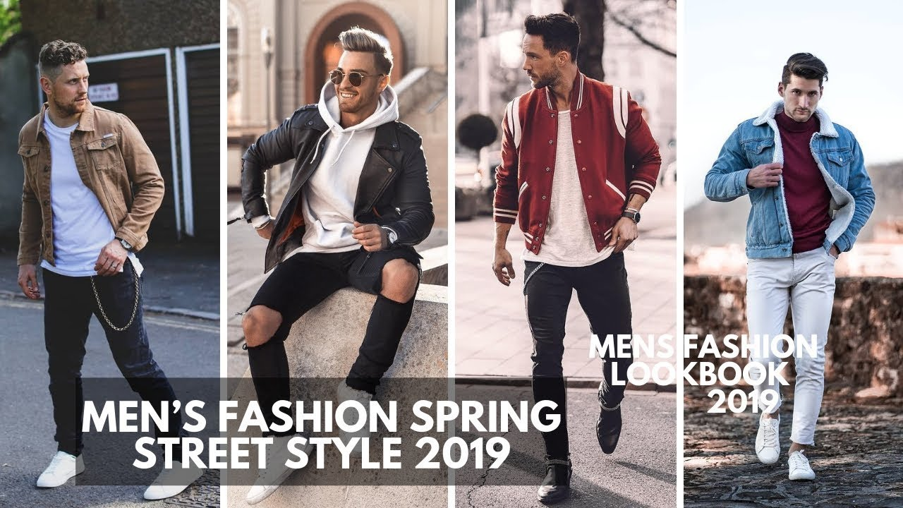 MEN'S SPRING Casual Streetwear | Style Inspiration | LOOKBOOK  2019 2