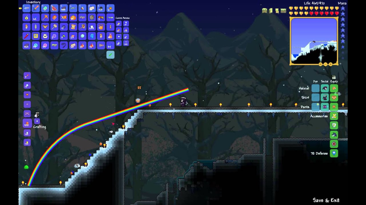 how to make rainbow torches terraria
