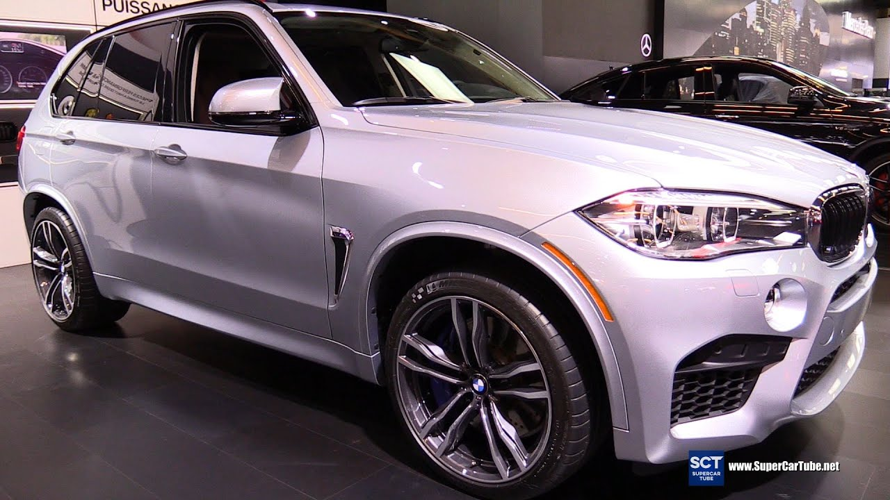 2016 Bmw X5 M Exterior And Interior Walkaround Montreal Auto Show