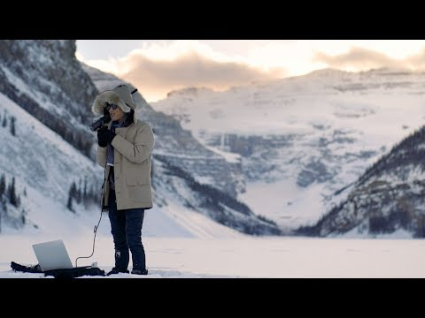 Recording on a frozen lake actually sounds AMAZING