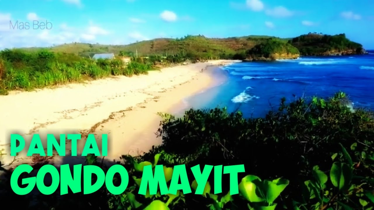 Wisata Blitar Pantai Gondo Mayit Blitar Jawa Timur Indonesia