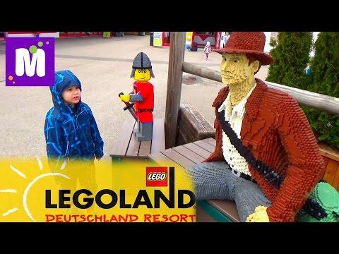 Летим в Леголенд Германия селимся в Лего отель Trip to Legoland Feriendorf Germany Resorts