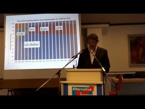 Prof. Walter Krämer: Kalte Enteignung -- Wie die Euro-Rettung uns um Wohlstand und Renten bringt.