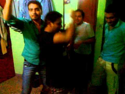 Delhi boys masti at New Year.midnight.