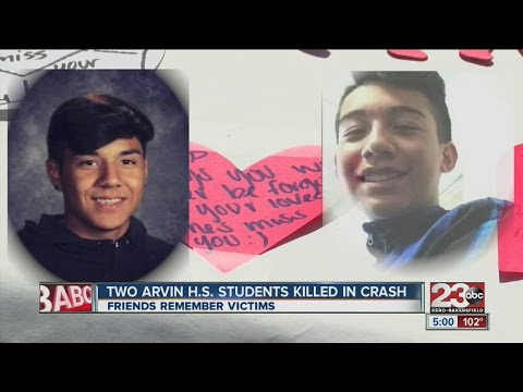 Two Arvin teens killed, three injured in crash