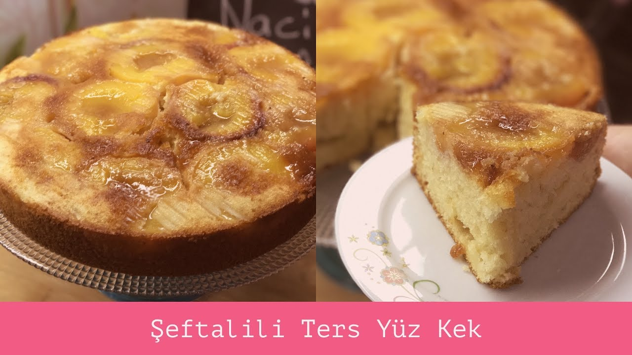 Şeftalili Kek Tarifi