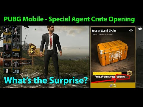 Opening 6 Special Agent Crates in PUBG Mobile 0.4.0 - What's My Surprise?