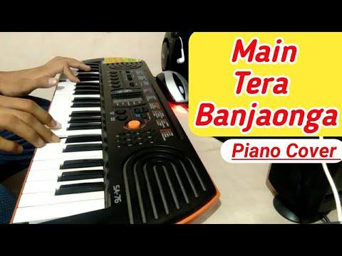 tera-ban-jaunga-on-piano-(casio-sa-77)-||-kabir-singh-||-both-hands-||-music-vallah