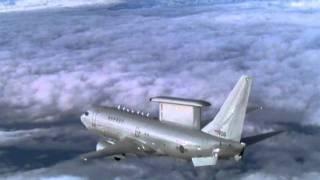 ROK Air Force Peace Eye 737 AEW&C.wmv