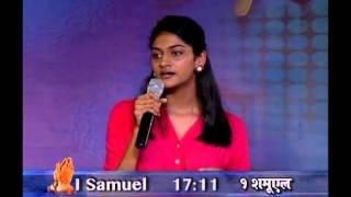 We Need to Cling On to God's Promises (English - Hindi) | Sharon Dhinakaran