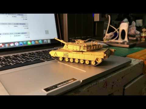 Waltersons 1/72 M1A1 RC Tank