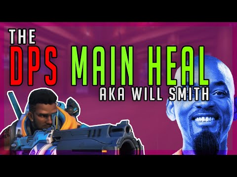 *Insane* NEW Overwatch Hero - Will Smith ( Baptiste Gameplay) thumbnail