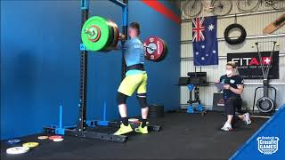 Men's Event 2, Jay Crouch, 412 lb