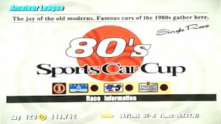 Gran Turismo 3: A-Spec - Part #33 - 80's Sports Car Cup II (Amateur)