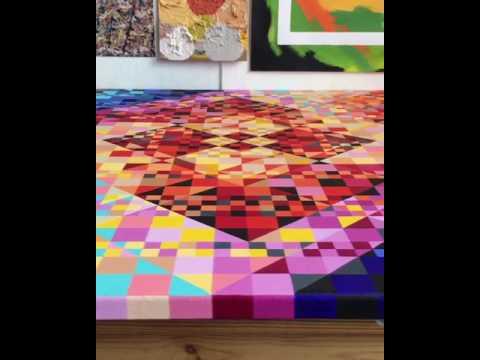 Nina Baxter - Geometric art with System 3