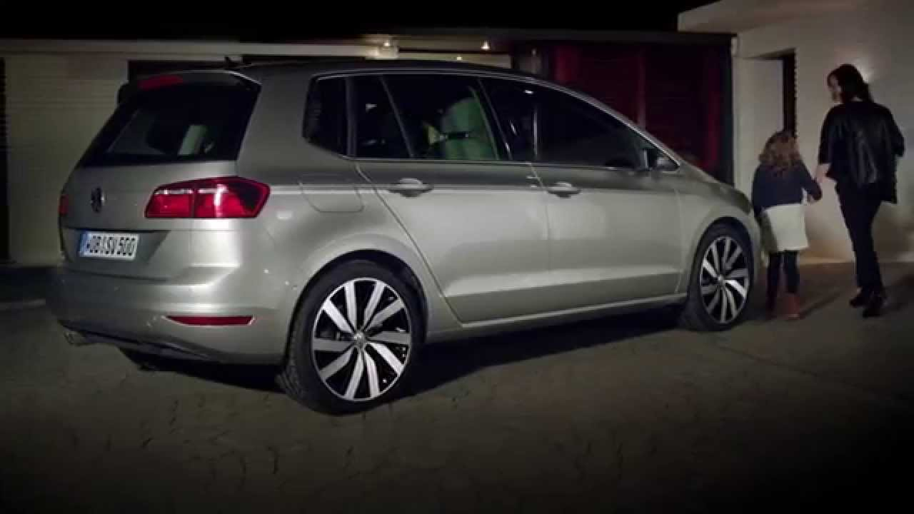 anuncio volkswagen golf sportsvan 2015 youtube. Black Bedroom Furniture Sets. Home Design Ideas